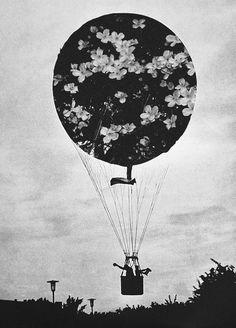 flora hot air balloon