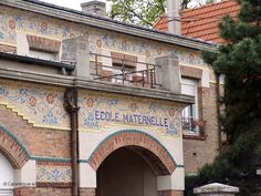 Ecole maternelle, 1929 (1), 36 rue Vauban à Livry-Gargan (93), mosaïque de Mazzioli