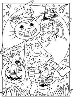 halloween ausmalbilder - ausmalbilder für kinder | halloween ausmalbilder, malvorlagen halloween