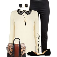 """""""No brainer casual Friday Outfit"""" by arjanadesign on Polyvore"""