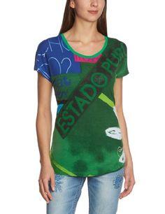 In Offerta! #Offerte Abbigliamento#Buoni Regalo   #Outlet Desigual - Tudenak Maglietta, manica corta, donna, Verde (Grün (Verde Mantel)), M disponibile su Kellie Shop. Scarpe, borse, accessori, intimo, gioielli e molto altro.. scopri migliaia di articoli firmati con prezzi da 15,00 a 299,00 euro! #kellieshop #borse #scarpe #saldi #abbigliamento #donna #regali