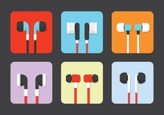 Isolated Earphone Vectors - https://www.welovesolo.com/isolated-earphone-vectors/?utm_source=PN&utm_medium=welovesolo59%40gmail.com&utm_campaign=SNAP%2Bfrom%2BWeLoveSoLo