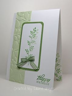 Laurie's Stampin Place: CAS Birthday card
