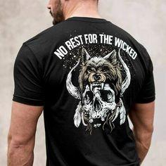 Individual Symbol short sleeve T-shirt T Shirt And Shorts, Printed Shorts, Casual T Shirts, Cool Shirts, Viking Shirt, Mens Clothing Styles, Tshirts Online, Shirt Designs, Iron Man