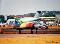 Refurbished Mirage III nicknamed the Cheetah of The South African Air Force