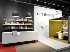Carpet Concept Stand at Stockholm Furniture Fair 2015 by ACTINCOMMON, Stockholm Sweden trade fairs