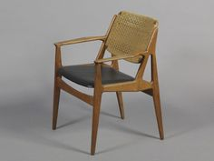 Arne Vodder Desk Chair, Teak