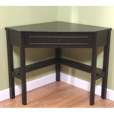 Corner Writing Desk as a vanity $80
