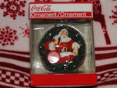 Strawberry shortcake christmas ornament fraisinette scented american american greetings coca cola coke santa claus christmas ornament with box wow in m4hsunfo Image collections
