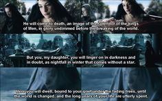Elrond's gift of foresight