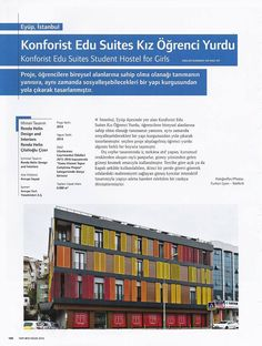 #rendahelindesign #press #turkey #yapı #april2016 #interiordesign #interior #awards #konforistedusuites #konforist #girl #dorm #art #architecture #design #culture #art