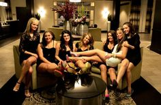 Bachelorette party photo shoot idea