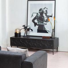 Tv Decor, Vintage Tv, New Furniture, Sideboard, Living Room, Interior, Inspiration, Stylish, Ideas
