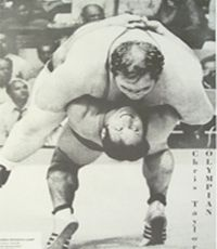 1972 Olympics - Chris Taylor thrown by West Germany's Dietrich #wrestling #Olympics #sports