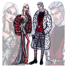 Mrs & Mr Claus by Hayden Williams #MerryChristmas