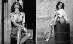 ru_glamour: Лайн Гост для рекламной компании Guess