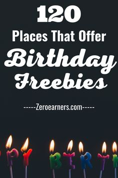 Free On Your Birthday, Free Birthday Gifts, Birthday Deals, Birthday Freebies, Birthday Wishlist, 26th Birthday, Birthday Parties, Free Stuff By Mail, Get Free Stuff