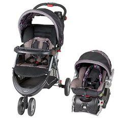 Baby Trend EZ-Ride 5 Travel System, Elizabeth -   - http://babyentry.com/baby/strollers/travel-systems/baby-trend-ezride-5-travel-system-elizabeth-com/