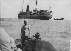 Casablanca  Port   L'Abda en rade de Casablanca    1917.05.28