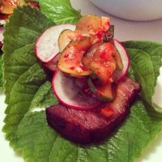 Oh most holy of food! There is no food that better represents the heart and soul of Korean people than kimchi. It's sassy, pungent, earthy, and will smack you in the head sometimes. I can't live wi… Korean Dishes, Korean Food, Quick Kimchi, Cucumber Kimchi, Baby Shrimp, Pickling Cucumbers, Rice Vinegar, Fish Sauce