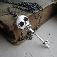 Skeleton Key Necklace from LUCIUS Jewelry on Storenvy