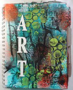 art journal covers | Art Journal Cover | Art journal7 | Pinterest