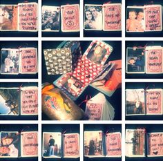 DIY 52 things I love about you.. Gifts for your boyfriend.