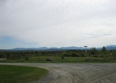 View of White Mountains from Concord, Vermont