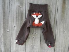 Upcycled Merino Wool Longies  Diaper Cover With Added by Myecobaby, $25.00