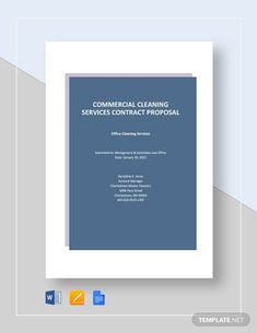 Cleaning Contract Template - Word (DOC) | Google Docs | Apple (MAC) Pages | Template.net Letterhead Business, Business Card Design, Creative Business, Business Cards, Letterhead Template Word, Cleaning Contracts, Commercial Cleaning Services, Restaurant Branding, Proposal Templates