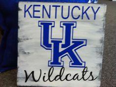 Wooden Kentucky Sign/12x12 Kentucky