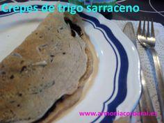 Crepes de trigo sarraceno #singluten #trigosarraceno #recetasparaadelgazardisfrutando