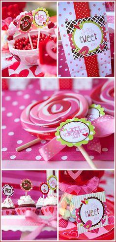 sweet tweet valentines  Fresh Chick Designs