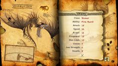 Image result for monstrous nightmare page book of dragons