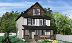 Shane Homes: Ambrose Floor Plan  Elevation: A   Architectural Style: Arts & Crafts  http://www.shanehomes.com/Creations/Homes/Models/84/floorplan