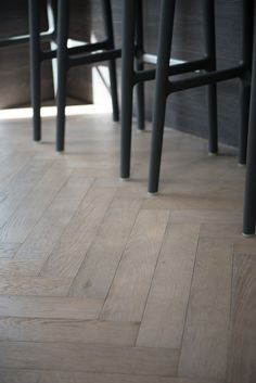 Oak herringbone with grey brown tones from Urbane Living