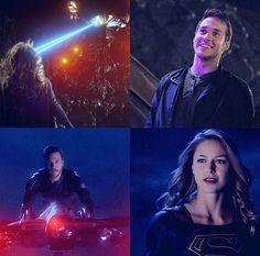 The respect and love in their eyes ❤️ more Karamel parallels #Karamel #KaraDanvers #MonEl #Supergirl #Valor #SuperValor #Melwood #MelissaBenoist #ChrisWood