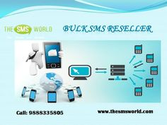 The SMS World provide Bulk SMS Reseller service. Get the best bulk SMS services from the most reputed bulk SMS API in India.  Visit today!