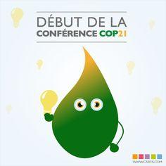 Lancement de la conférence COP21