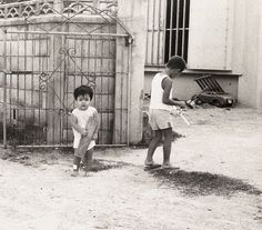 Our landlords kids. Okinawa, 1970