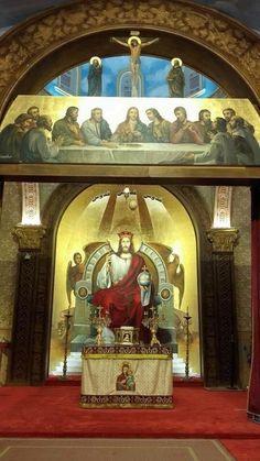 كنيسة العذراء و القديس يوسف  النجار بسموحة Icons, Ikon, Icon Set