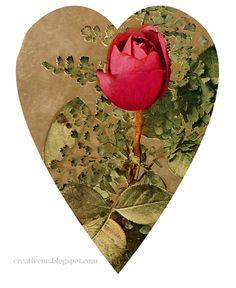 День Святого Валентина. Сердца Vintage. Картинки для декупажа и скрапбукинга.: ♥ Creative NN. Блог Альбины Рассеиной. ♥