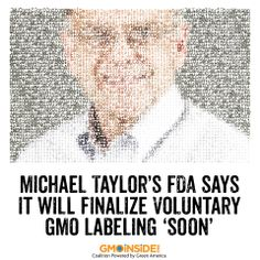 FDA aiming to finalize a voluntary guidance on GMO labeling. More here: http://www.agri-pulse.com/FDA-says-it-will-finalize-voluntary-GMO-labeling-soon-03282014.asp #GMOs #labelGMOs #righttoknow