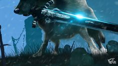 Dark Souls - Sif, the Great Grey Wolf