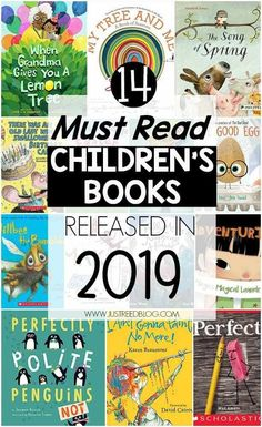 These 14 Must Read Children's Books being released in 2019 are perfect for pre-k through second grade. You'll want to add these titles to your home or classroom library! teach child to read New Children's Books, Library Books, Good Books, Preschool Learning Activities, Preschool Books, Sequencing Activities, Best Books For Kindergarteners, Best Kindergarten Books, Books For Preschoolers