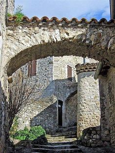 Mirmande, Drome, France