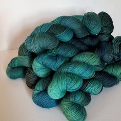 """(@bayviewfiberarts) on Instagram: """"I would like to show you one of my favorite new colorways, Mermaid's Lair. This is going to be a…"""""""