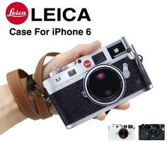 Leica Camera Design Handyhülle mit Seil für iphone 6 und iphone 6 plus - Prima-Module.Com