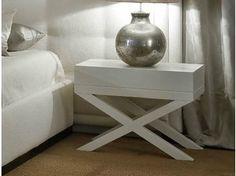 Mesa-de-cabeceira retangular de madeira FUMODILONDRA | Mesa-de-cabeceira - SOFTHOUSE