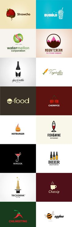 grafiker.de - Logo-Inspiration: Food & Drink